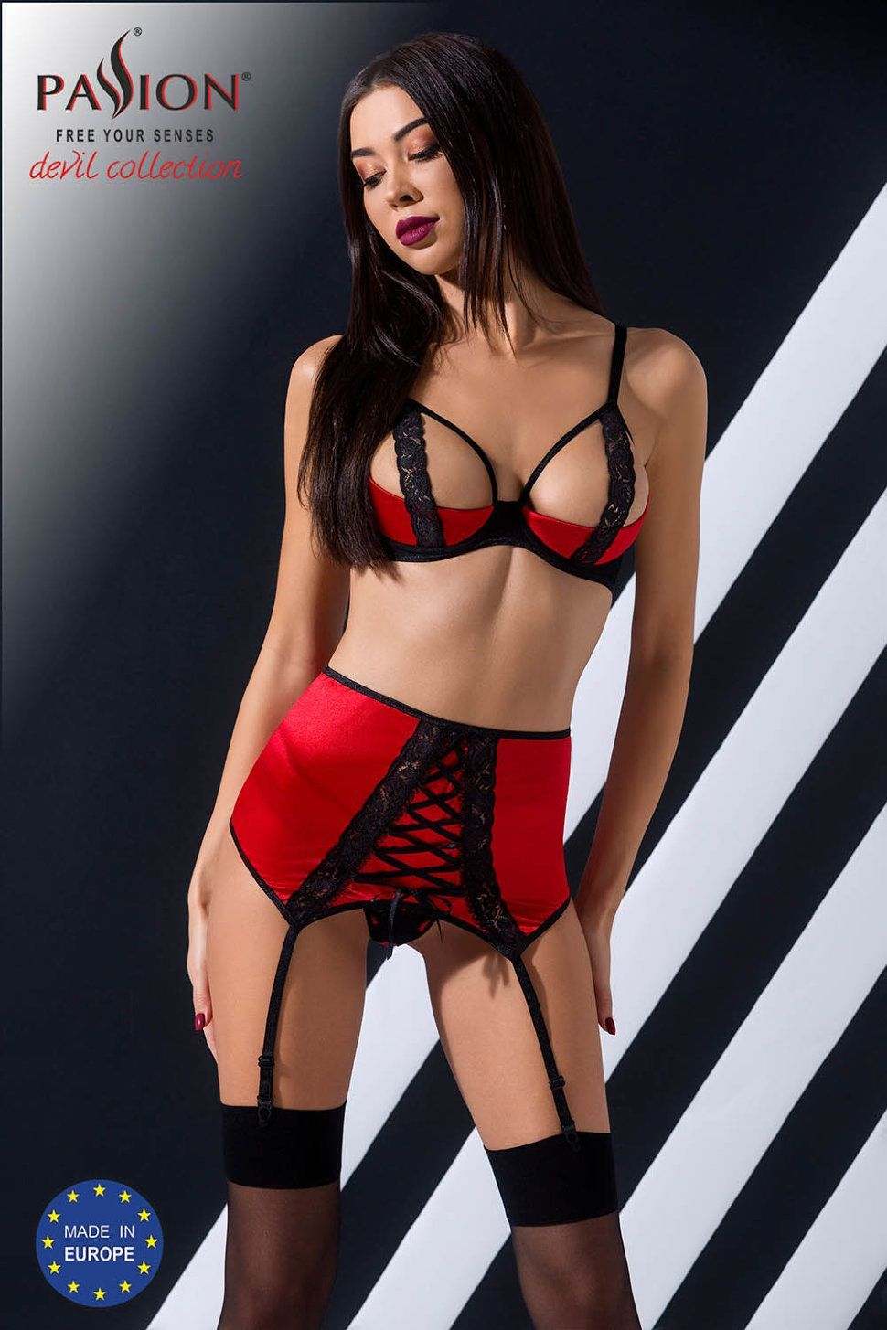 комплект femmina set red