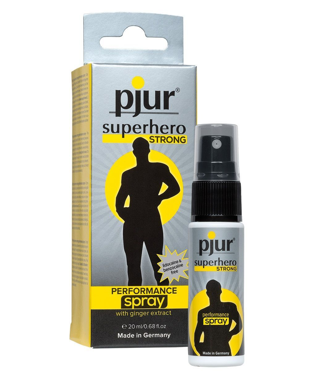 спрей pjur superhero strong spray 20 ml концентрат