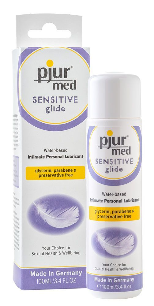 pjur med sensitive glide (waterbased) без консервантов