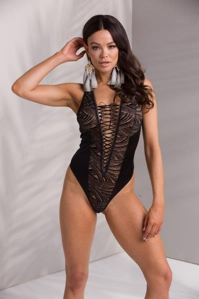 боди lara body black