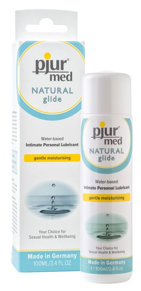 pjur med natural glide waterbased увлажняющая