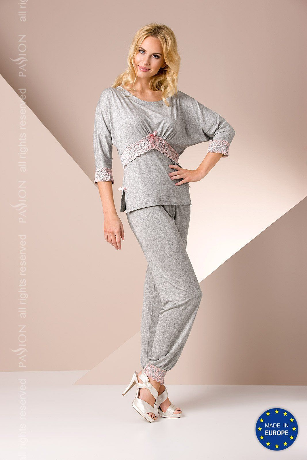 пижама py009 pyjamas grey