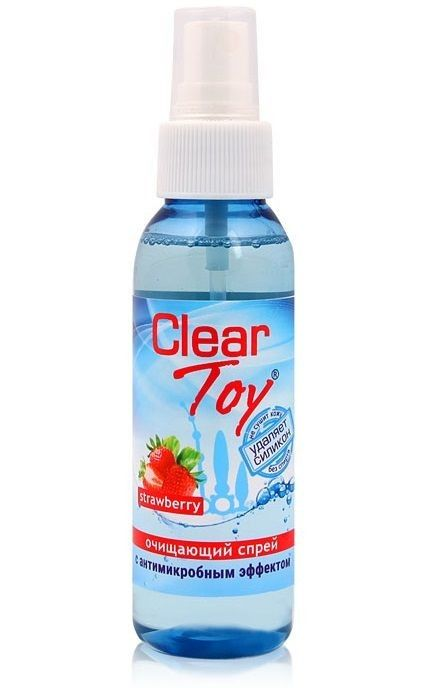 "спрей ""clear toy strawberry"" очищающий"