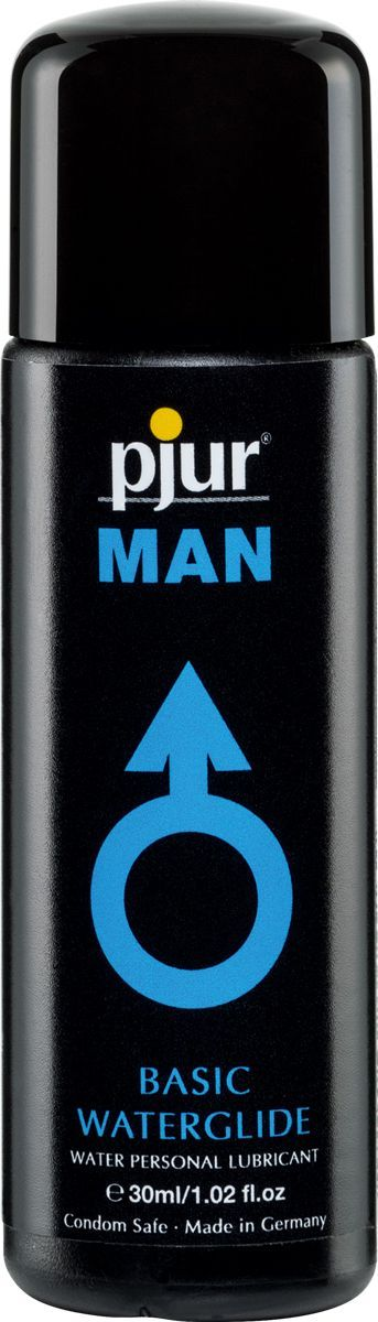 смазка мужская pjur man basic water glide 30 ml(water)